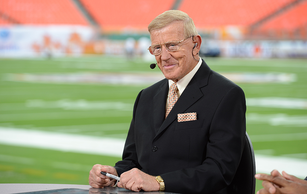 Recent Retiree Lou Holtz Finds A Job As A College Football