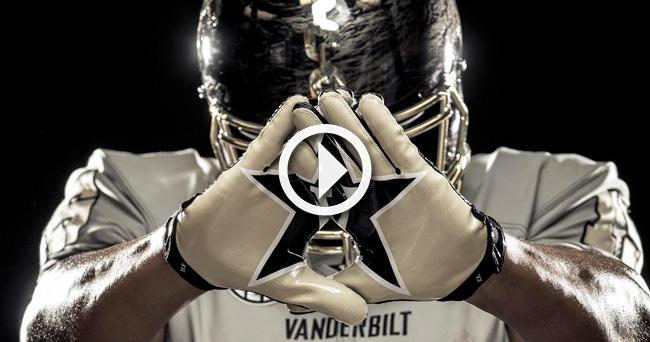 Video   Photos  Vandy unveils  Deep Water  chrome alternate uniform 79f67e7e4