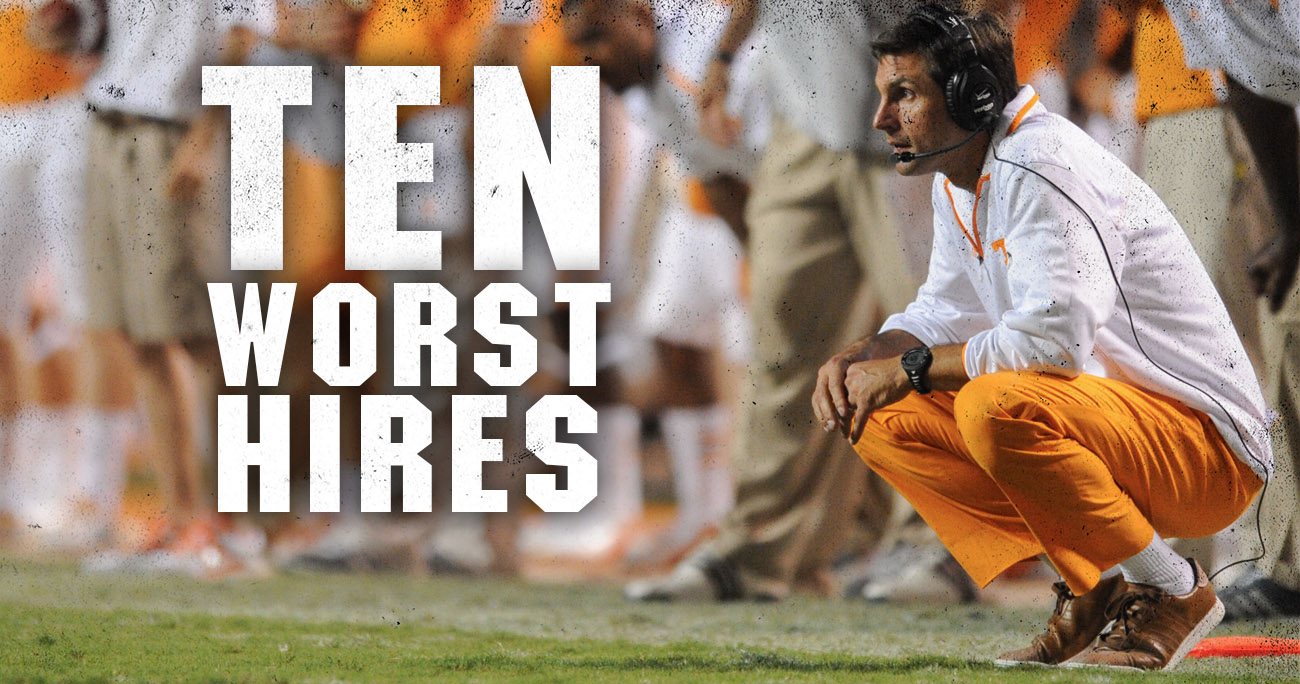 10 worst sec hires of the bcs era sciox Images