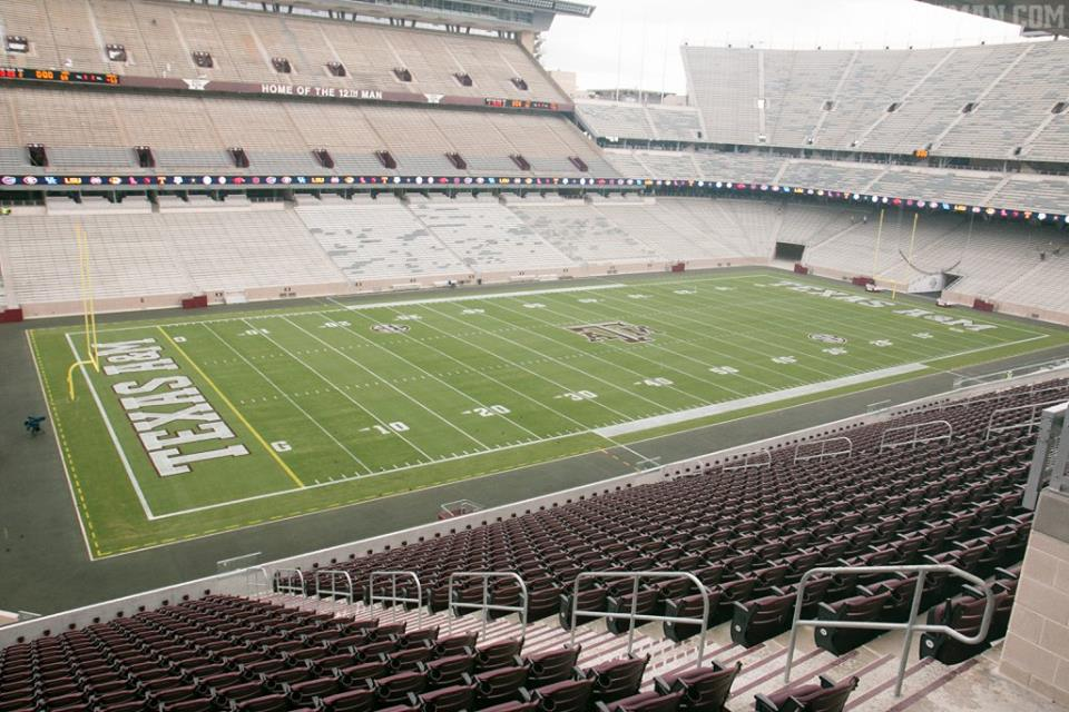 photos new kyle field 39 s extravagant suites club level seating. Black Bedroom Furniture Sets. Home Design Ideas