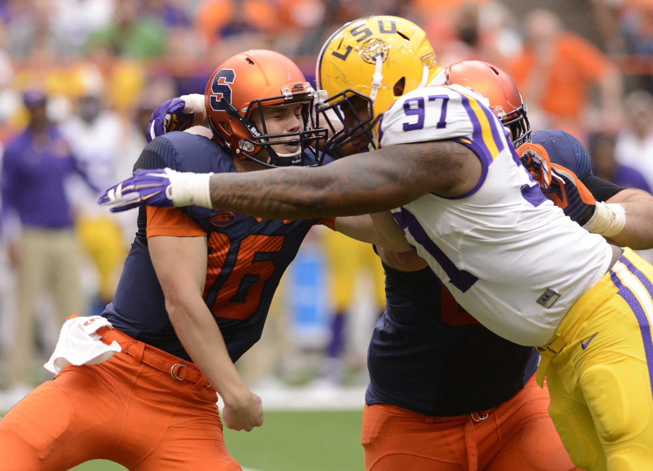 LSU defense has played well but must continue to improve ...