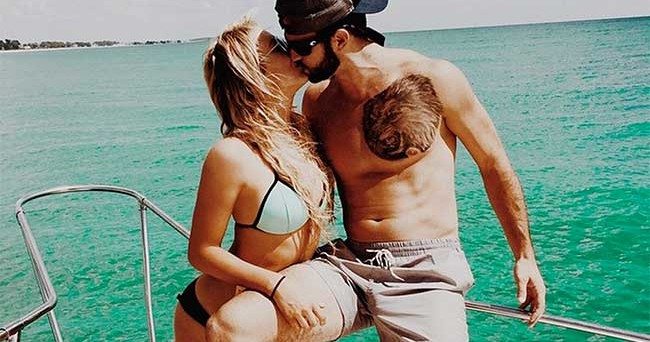 Will Grier Has An Amazing Chest Tattoo And Nfl Cheerleader