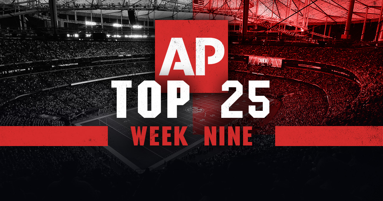 College Football Rankings 2018: Week 9 AP Top 25 poll ...