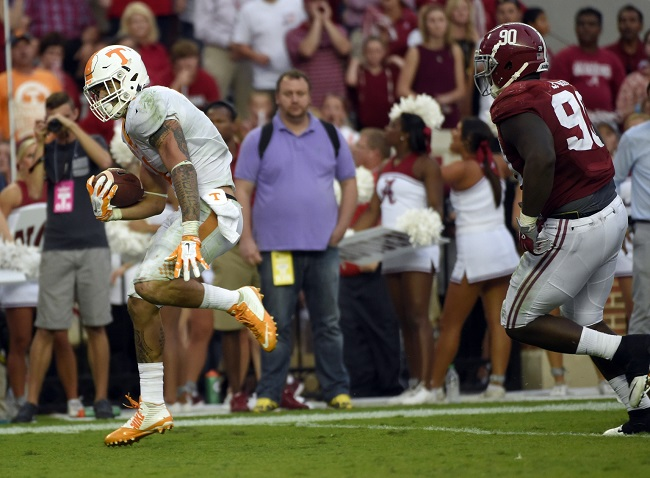 When will Tennessee end its losing streak to Alabama?