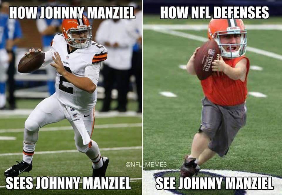 Manziel in the NFL MEME