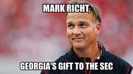 Richt gift to SEC MEME
