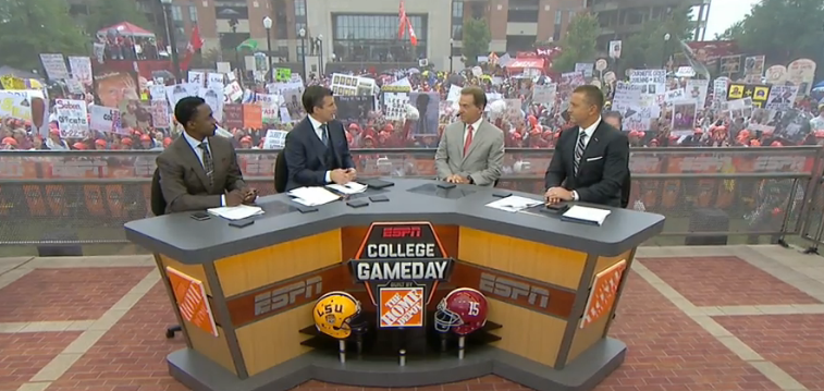 What Nick Saban said during Saturday's College GameDay appearance
