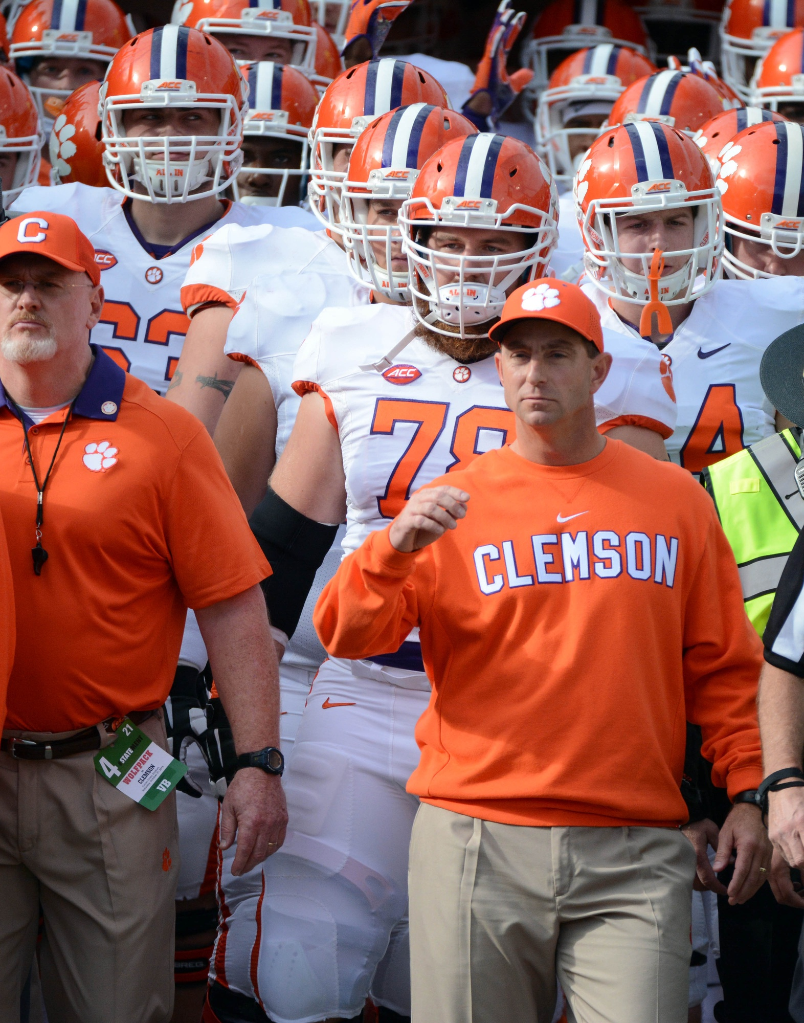 Clemson coach Dabo Swinney: Spurrier 'one of the best to ...