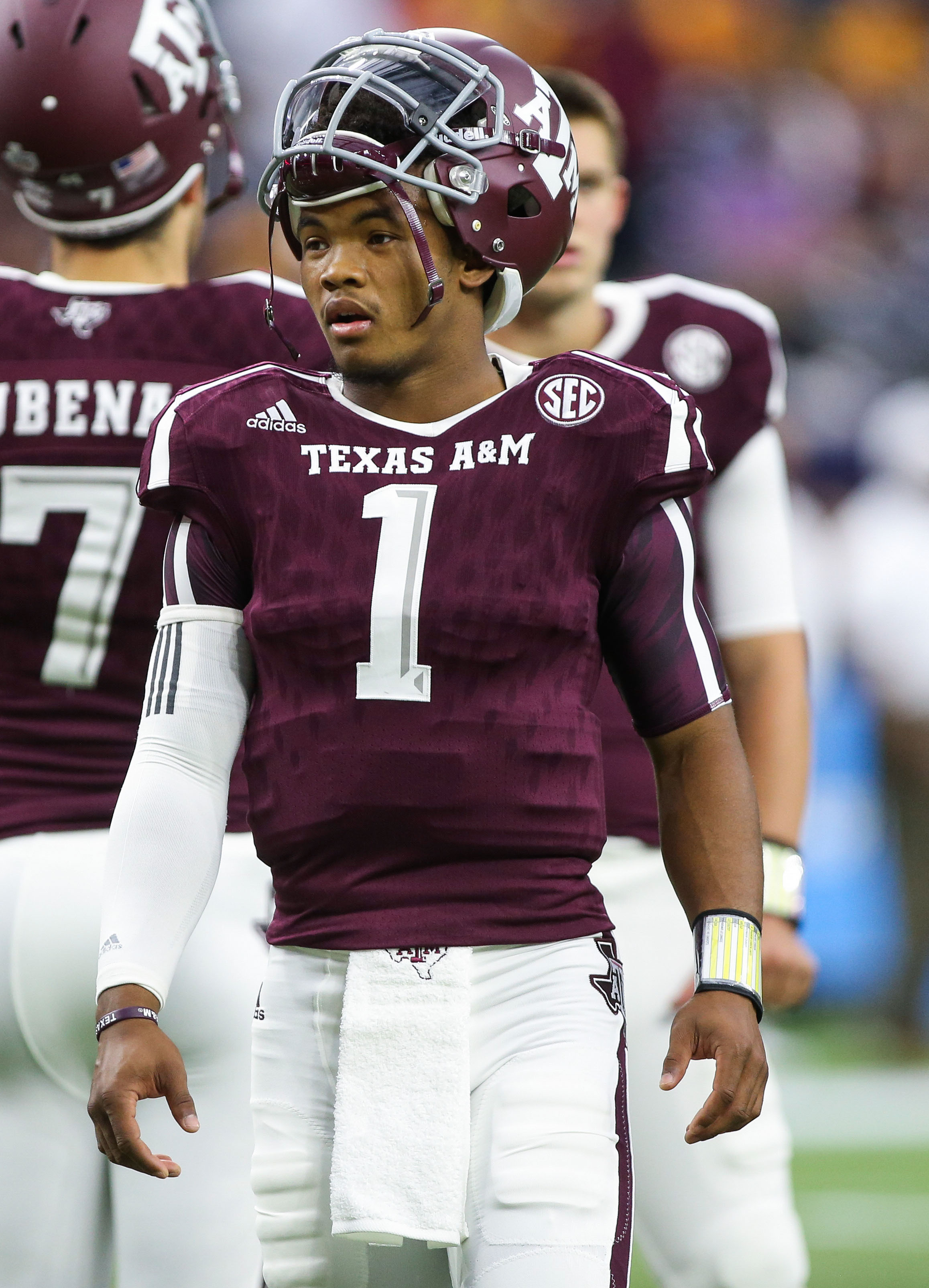 texas a and m football score