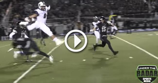 Thaddeus Moss Football >> Video: Watch SEC recruiting target, Randy Moss' son, make
