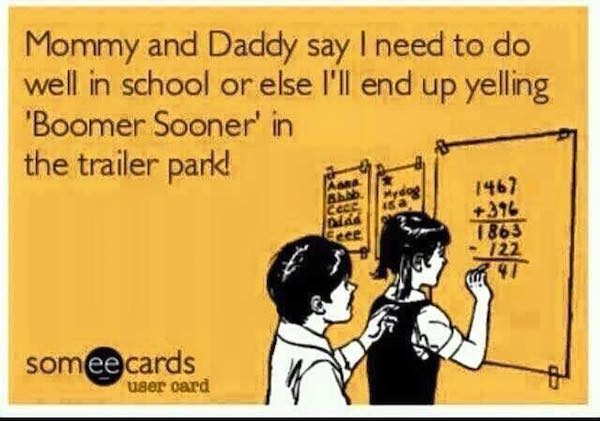 Boomer Sooner MEME