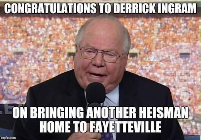 Derrick Ingram Fayetteville MEME1 best sec football memes from the 2015 season