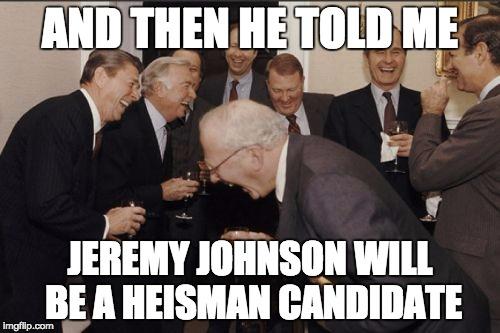 JJ Heisman Candidate MEME