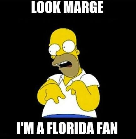 Look Marge UF Fan MEME