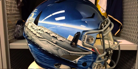 navy to make history by wearing 7 different awesome helmets vs army