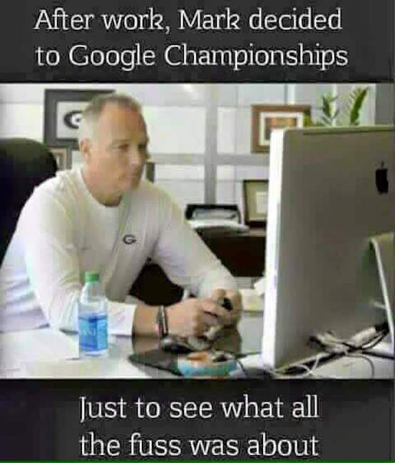 Richt Googles Championship MEME