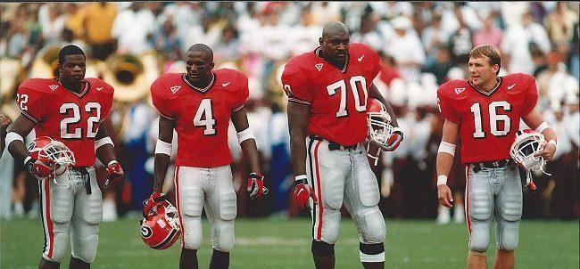 Champ Bailey Georgia Bulldogs Football Jersey Red