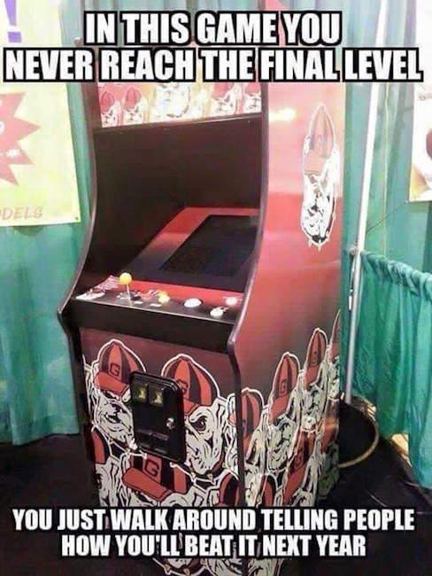 UGA Video Game MEME