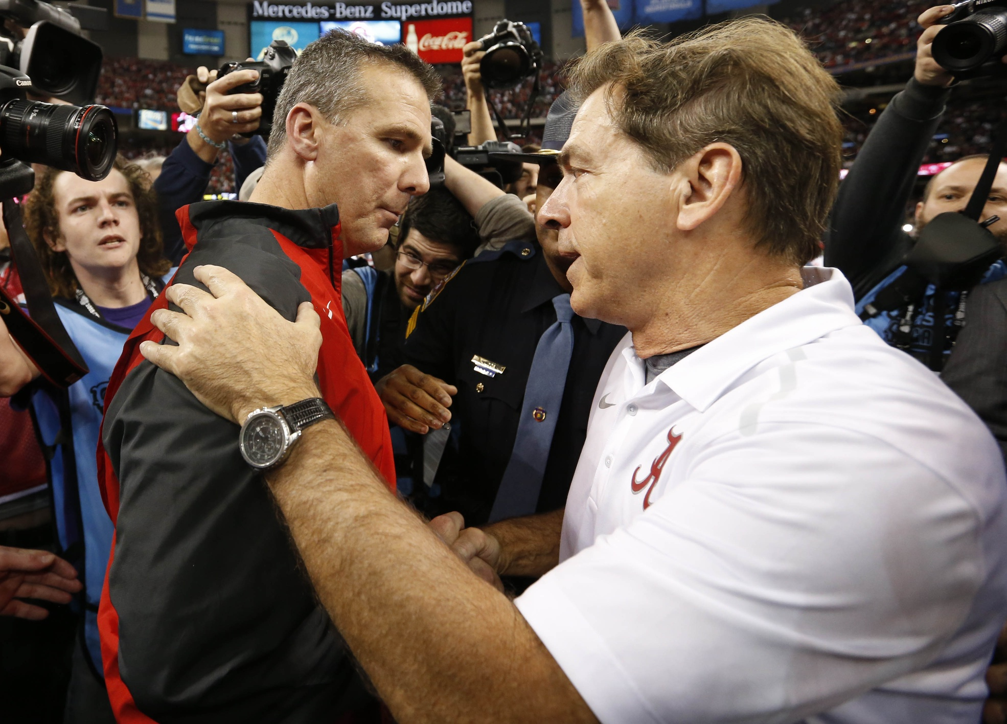 nick saban bypasses urban meyer to reclaim no 1 coach status