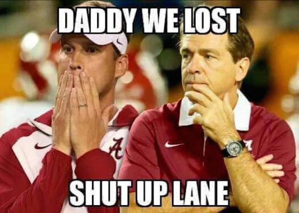 Kiffin Daddy We Lost MEME