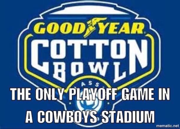 Playoff in Cowboys Stadium MEME