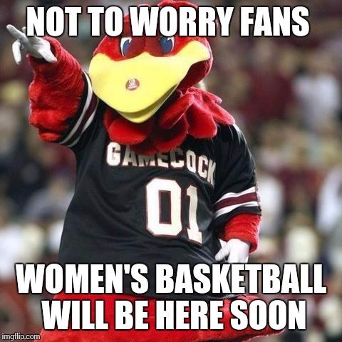 SC Women BBall Soon MEME