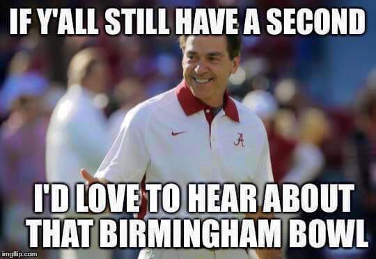 Second About Bham Bowl MEME