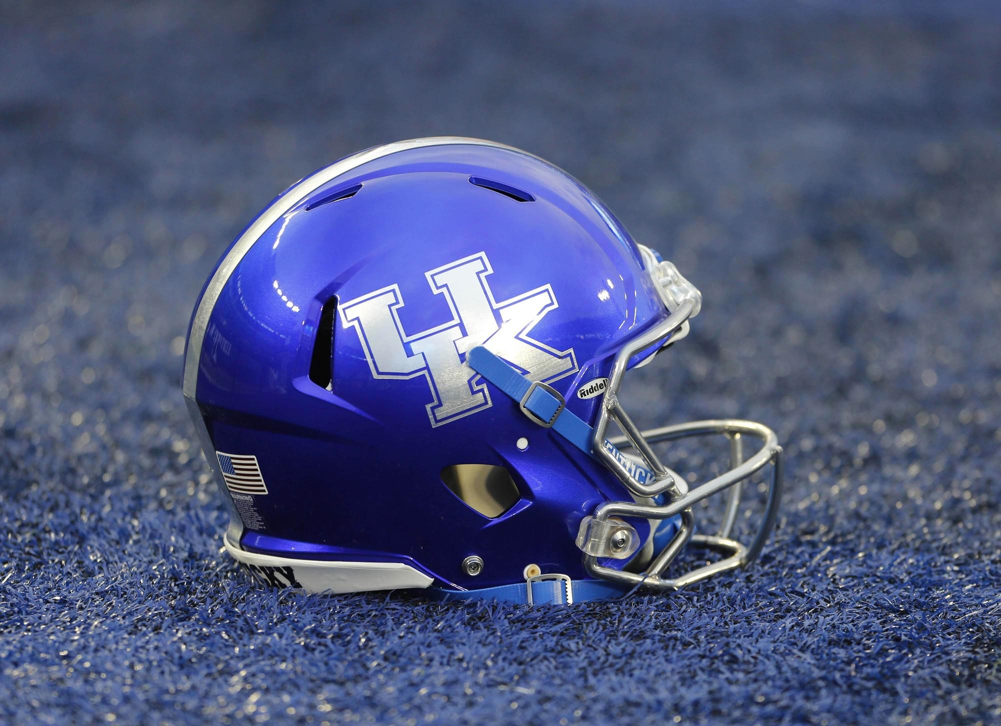 Image result for kentucky football helmets