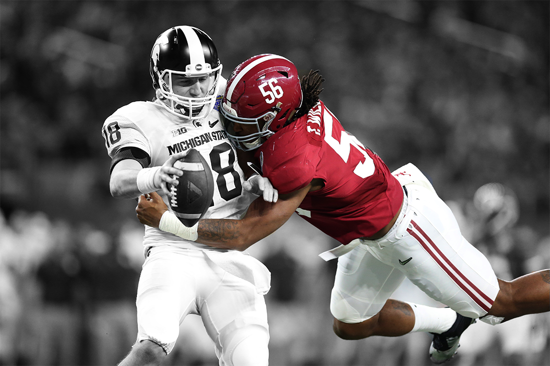 Alabama pass rusher Tim Williams has rare quickness, extremely strong motivation