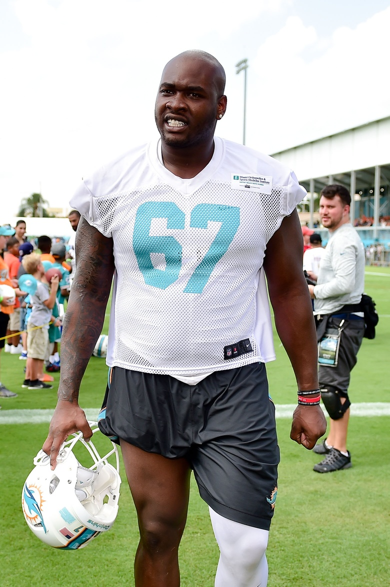 Miami Dolphins left tackle embracing Laremy Tunsil