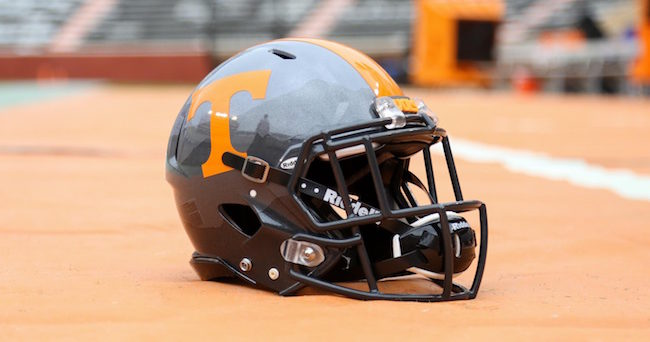 Randy Sartin-USA TODAY Sports Tennessee Volunteers helmet