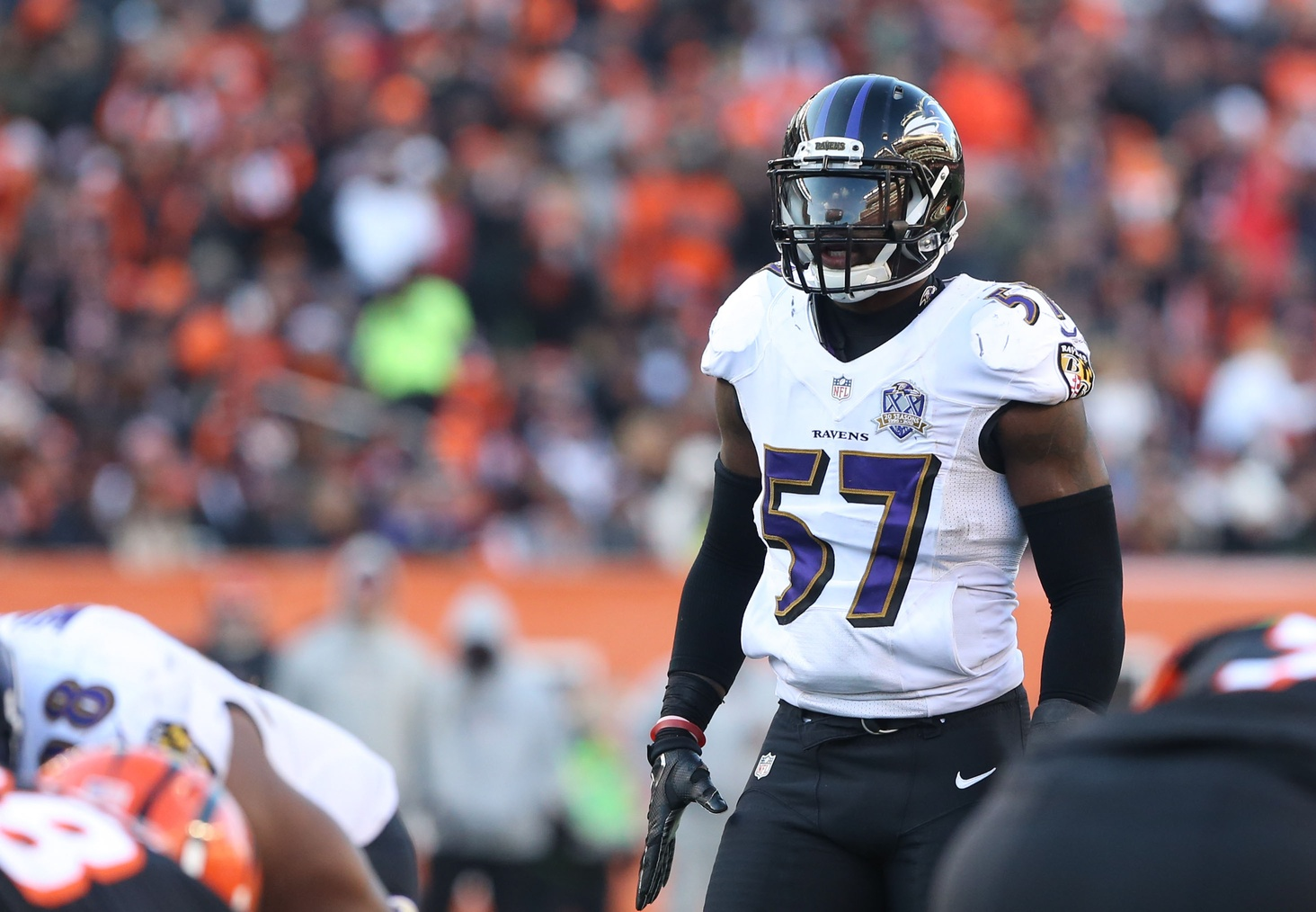 C J Mosley shouts out little brother for earning scholarship with