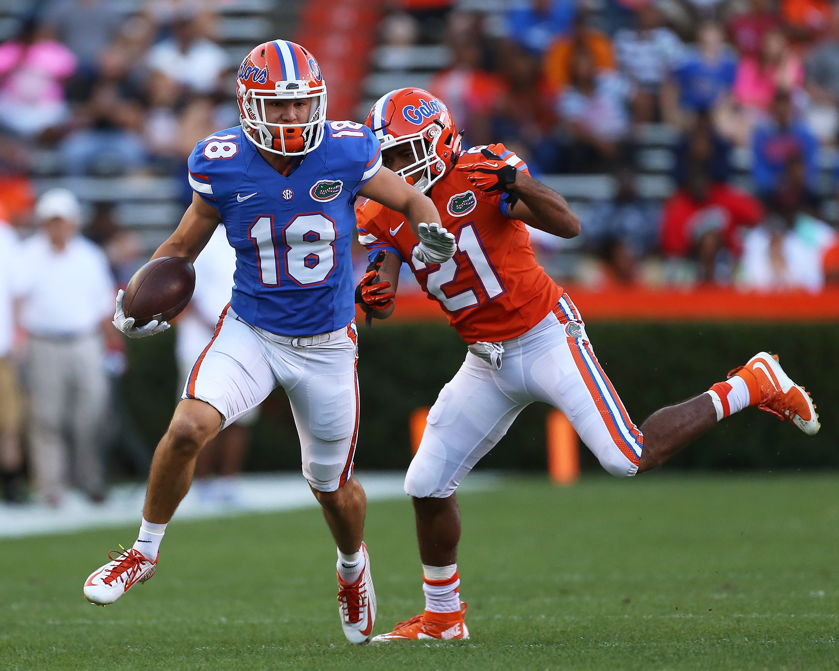 The conversation that changed everything for Gators WR C.J. Worton