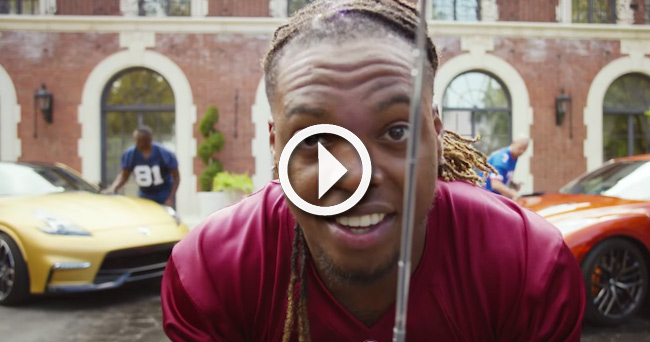 Video Derrick Henry Makes His Debut At The Heisman House