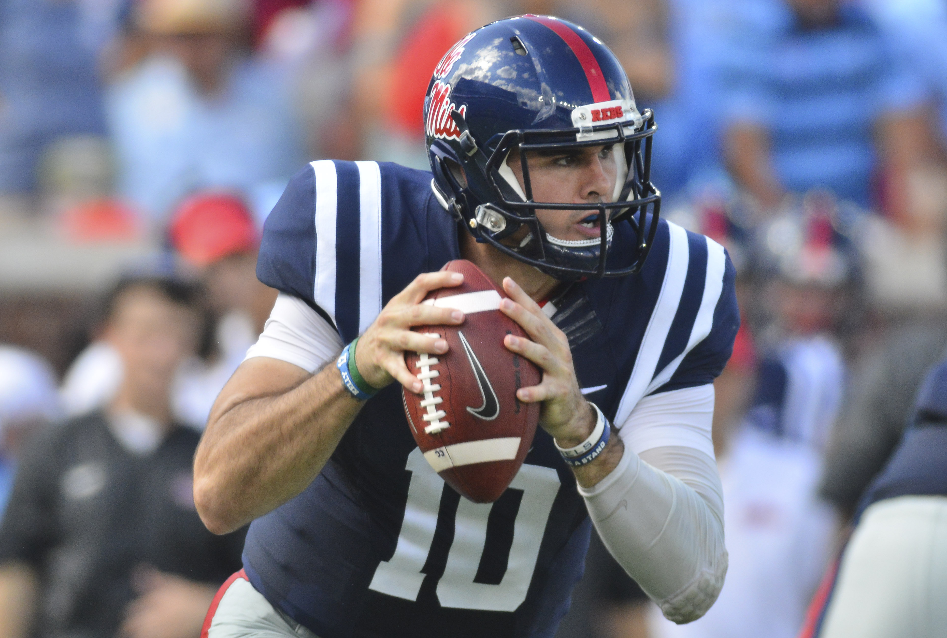 outlet store c5e1c cf6de Chad Kelly cleared for Ole Miss Pro Day