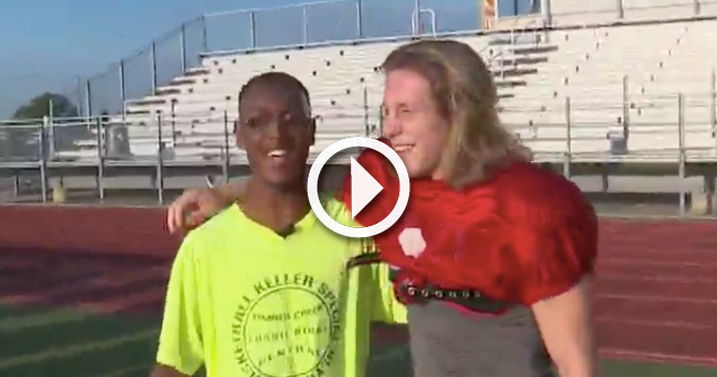 Video QB Homecoming King Bestows Honor To Classmate With