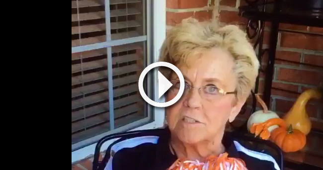 Video Vulgar Tennessee Granny Returns With A Message For