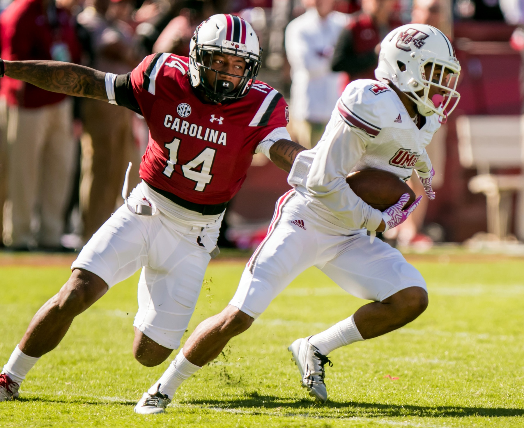 Report: South Carolina WR Jamari Smith plans to transfer
