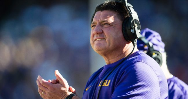 Video Lsu Players Showcase Their Best Coach O Impersonations