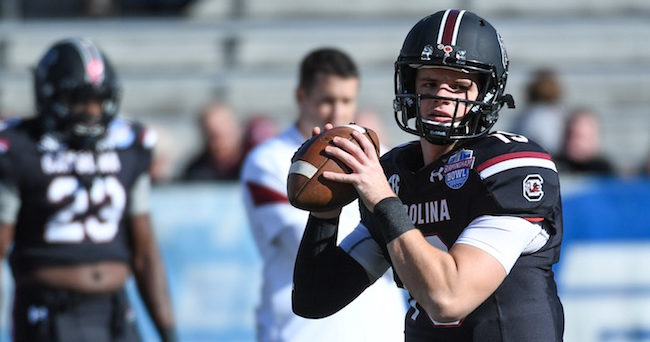 Jake Bentley Shanna Lockwood-USA TODAY Sports