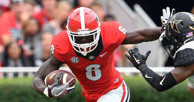Georgia WR Riley Ridley arrested on marijuana charge