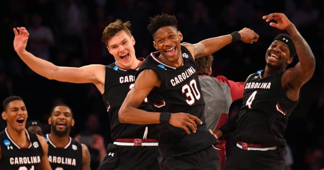 SC headed to Final Four, beats Florida 77-70