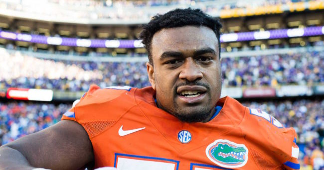 Ex-Gator, NFL prospect Brantley charged with hitting woman