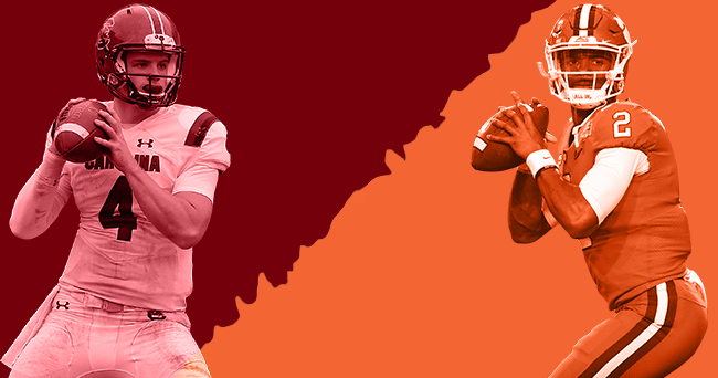Clemson QBs vs. South Carolina QBs ... who's better in 2017?