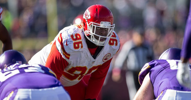 Chiefs release defensive tackle Jaye Howard