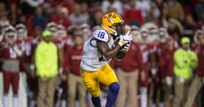Bills select LSU's White with the 27th pick in NFL draft