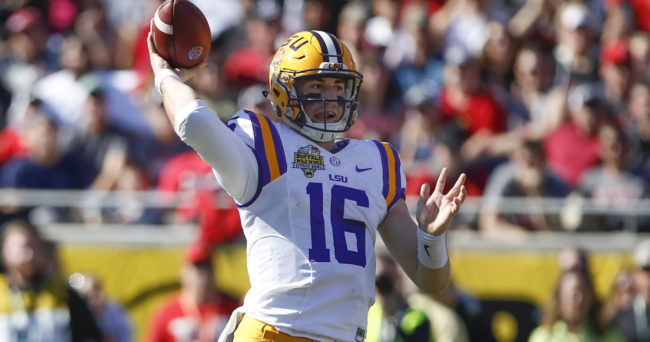 Danny Etling Undergoes 'Minor Back Procedure'