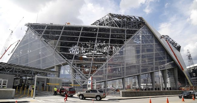 Mercedes-Benz Stadium May Not Be Ready For Start Of Falcons' Season