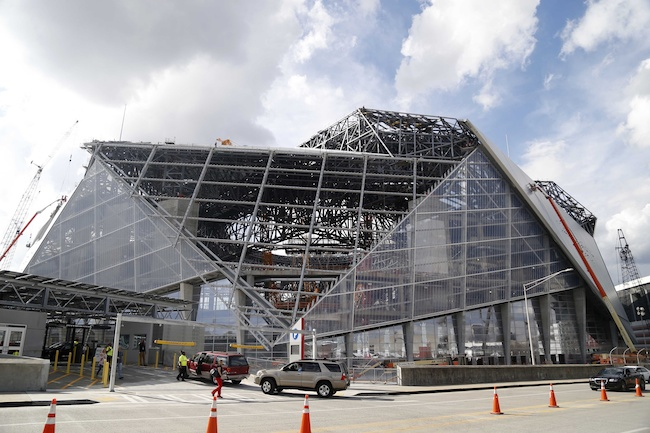 Mercedes Benz Of St Louis >> Atlanta's new Mercedes-Benz Stadium to host Super Bowl LIII