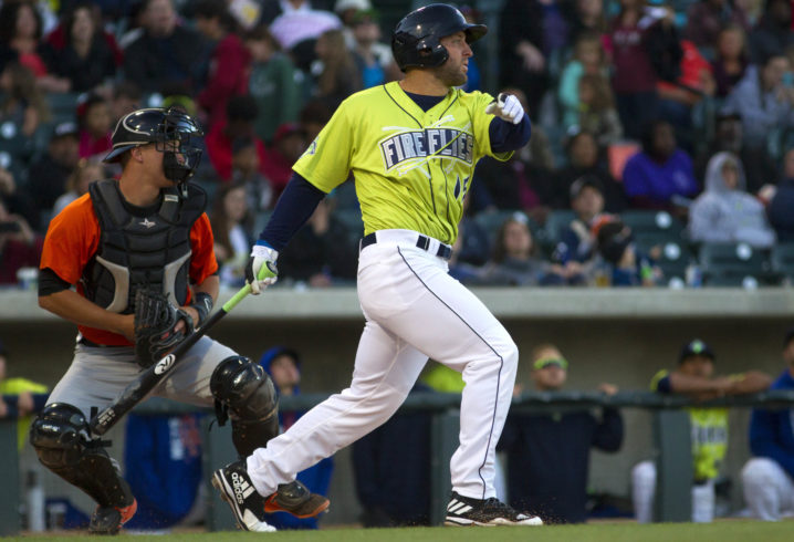 Watch Tim Tebow Hit His Third Home Run For Columbia Fireflies